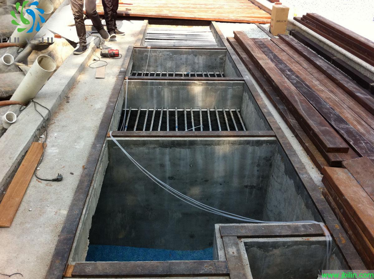 80cm水深用鱼池过滤毛刷