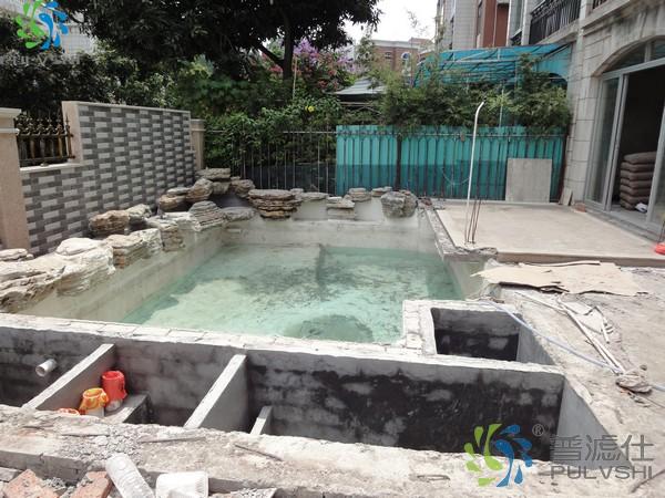 锦鲤鱼池设计建造