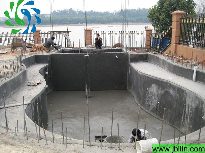 鱼池底部排水设计图